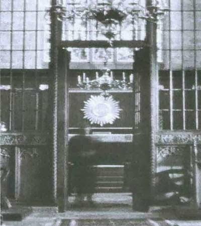 Sefton church ghost story