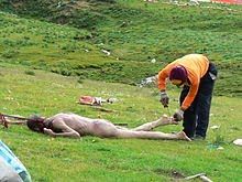 Sky Burial, Hindi, Story, History, Itihas, Information, Janakri, Tibet, Funeral, Cremation.