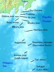 Izu islands -Japan