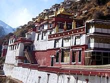 Drigung Monastery, Tibetan monastery famous for performing sky burials.