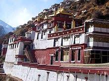 Drigung Monastery, Tibetan monastery famous for performing sky burials.
