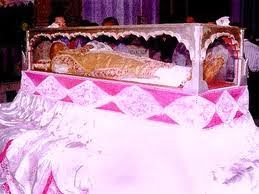 Dead body of St Francis Xavier 2