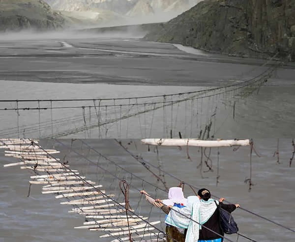 Hussaini Hanging Bridge - Pakistan, Hindi, Story, History, Kahani, Itihas, Information, Janakari,