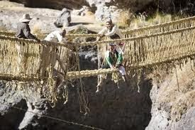 Inca Rope Bridge or Keshwa Chaca Bridge - Peru, Hindi, Story, History, Kahani, Itihas, Information, Janakari,