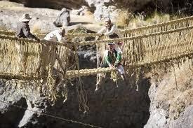 Inca Rope Bridge or Keshwa Chaca Bridge - Peru, Hindi, Story, History, Kahani, Itihas, Information, Janakari,