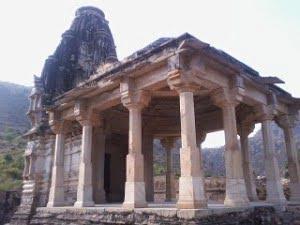 Mangala mata temple at bhangarh