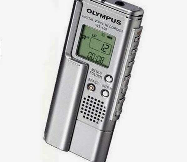 Digital recorder -Gadgets for ghost hunting : Information in Hindi