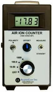 Air Ion Counter - Gadgets for ghost hunting : Information in Hindi
