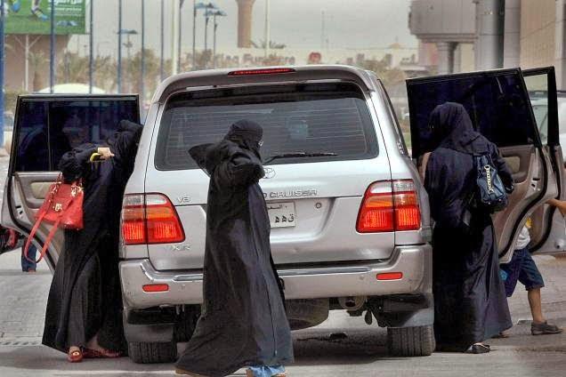 Women are not allowed driving in Saudi Arabia