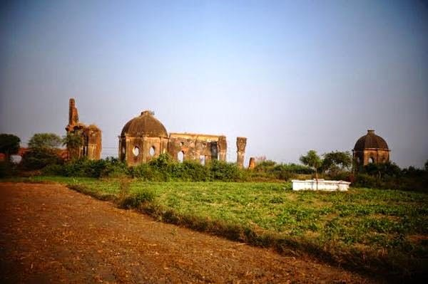 Ruins of Musa bagh Lucknow, U.P.