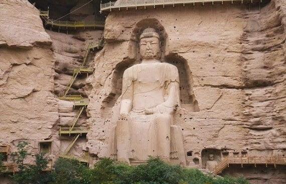 The Giant Maitreya Buddha of Binglíng Sì, China, History, Story, Kahani, Itihas, Information, Hindi