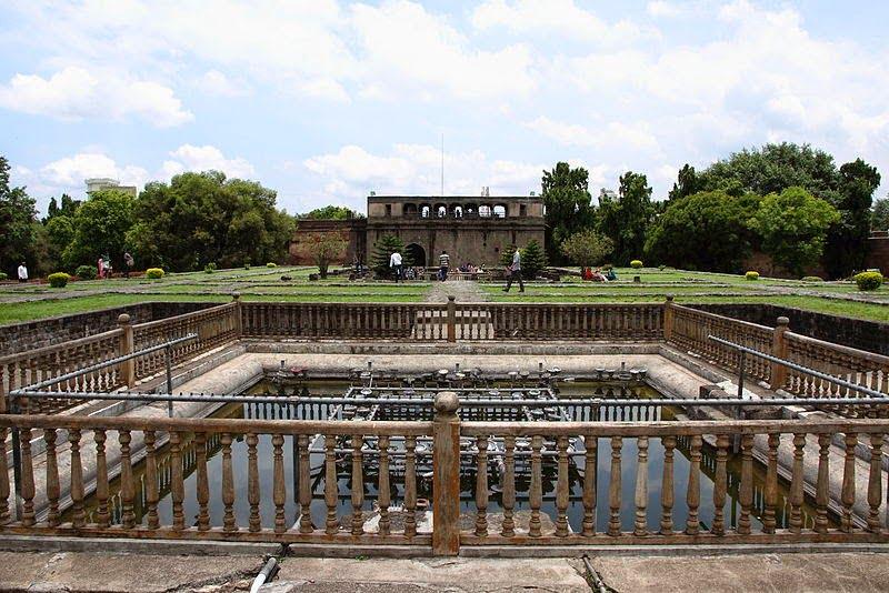Shaniwar Wada palace Lotus fountain