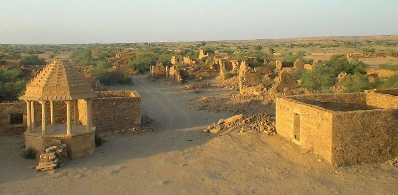 Kuldhara Village - Jaisalmer - Rajasthan, Hindi, News, Story, History, Kahani, Khabar, India, Most, Top, Haunted, Creepy, Spooky, Ghostly, Places,