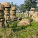 दीमापुर – नागालैंड – यहाँ है शतरंज की विशाल गोटिया जिनसे खेलते थे भीम और घटोत्कच
