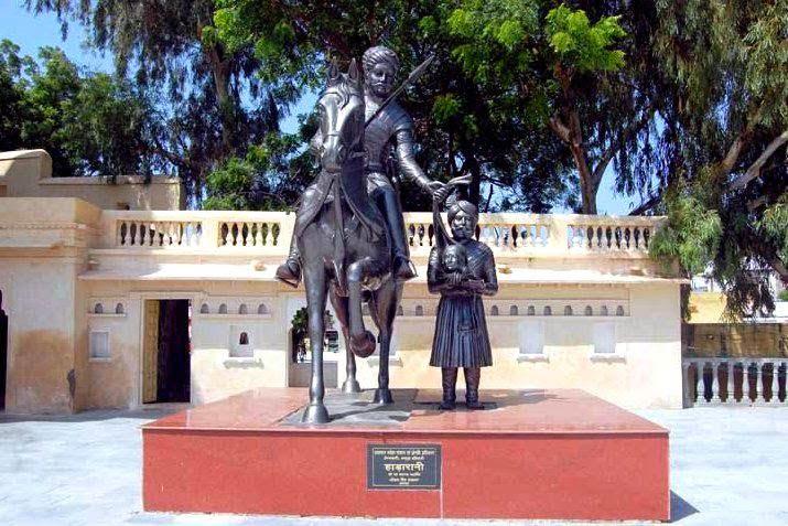 Hada Rani Memorial at Salumbar