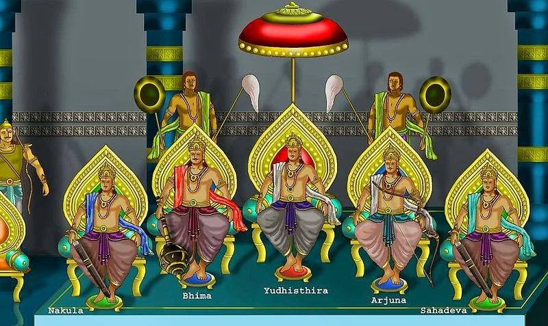 Why Pandavas eat dead body (Flesh) of Pandu in Hindi