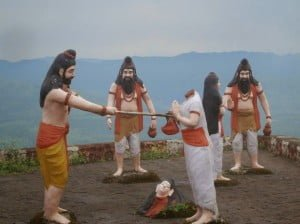 Parashurama Cut The Head of Renuka Mata