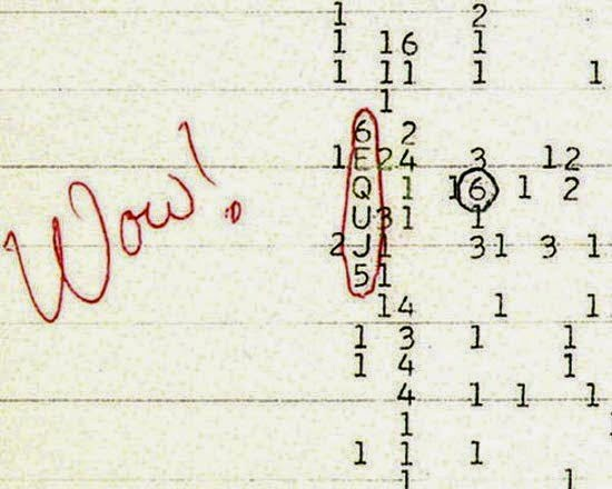 Wow Signal Mystery, Story, history in Hindi