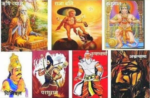 7 Immortals (Chiranjeevi) of Hindu Mythology Story in Hindi