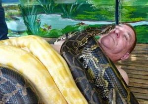 Snake Massage Parlour Jakarta Indonesia