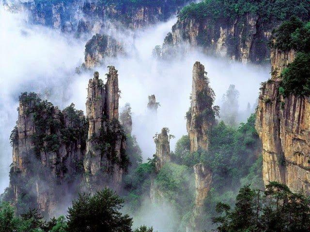 Tianzi Mountains China, Facts, History, Information Hindi,