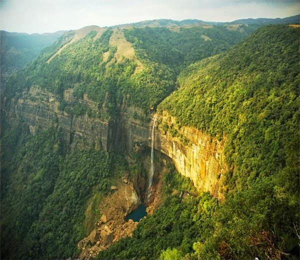 Noakhali Falls, Cherrapunji, Hindi, Information, History, Story, Jankari, Kahani, Itihas