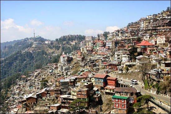 Shimla, Himachal Pradesh, Hindi Information,