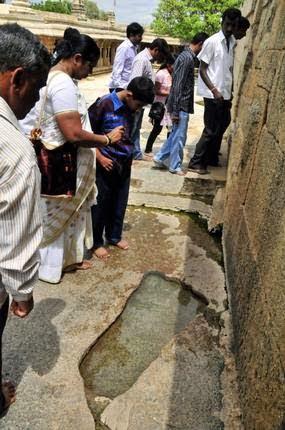 Rama Padam or Rama Footprint Hindi History