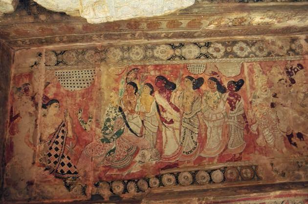 Magnificent Mural Andhra Pradesh