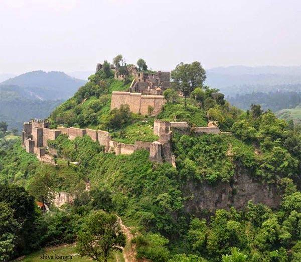 Kangra Fort, Himachal, History, Story & Information in Hindi