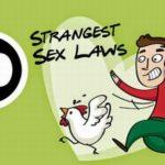 सेक्स से सम्बंधित 20 अनूठे नियम कायदे (20 Weird Sex Laws Around the World)