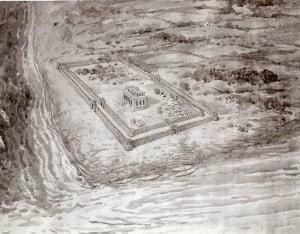 Construction of  Shri Krishna's Dwarika