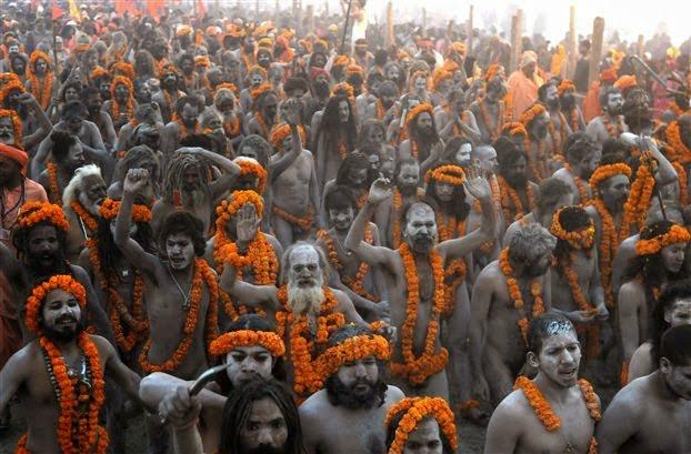 Naga Sadhu - Complete Information and History in Hindi