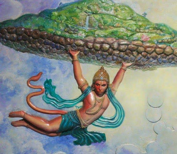 Story & History of  Dronagiri Parvat in Hindi