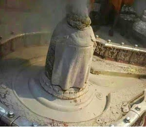 Why offer bhasma on Shivling in Hindi