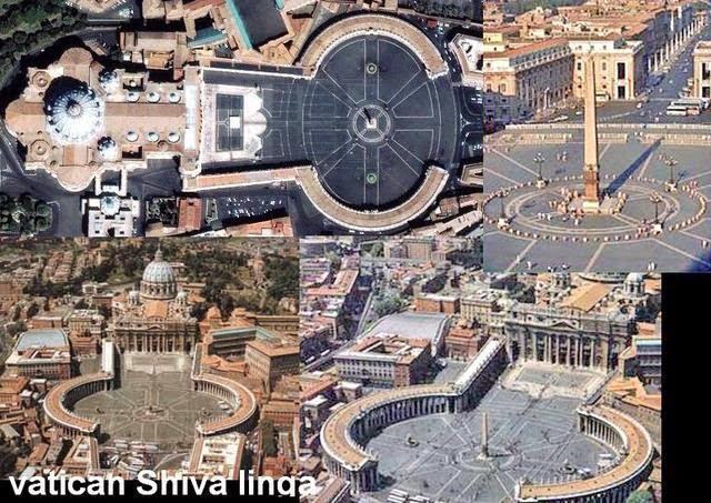 History of Vatican city Shiv linga in Hindi