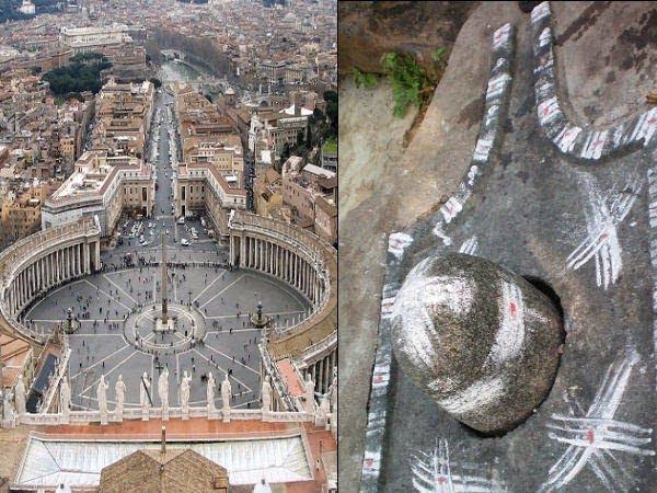 Story of Vatican city Shivlinga in Hindi