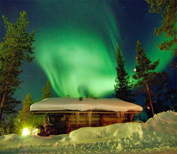 Saariselkä, Finland Northern lights Story in Hindi