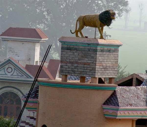 Water tank village Punjab