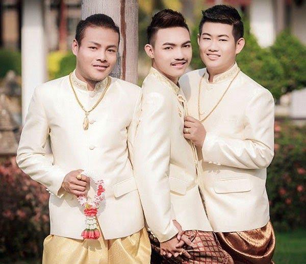 Threesome Gay wedding Thailand Hindi Kahani