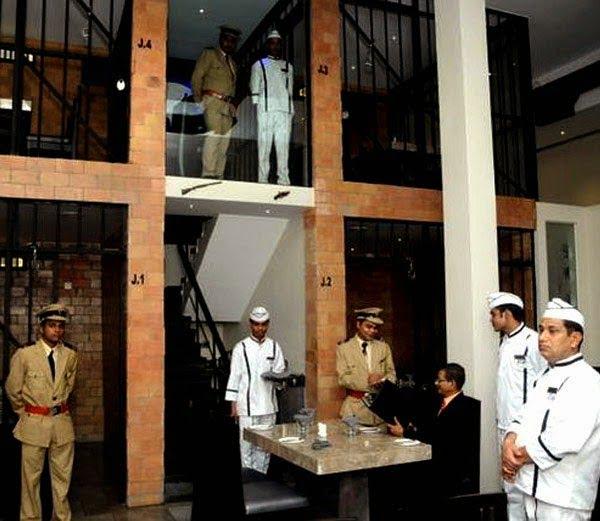 Kaidi Kitchen, Chennai - Experience eating in a jail