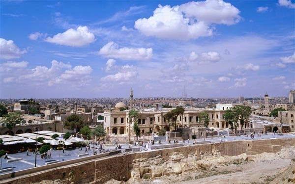 Aleppo, Syria History in Hindi