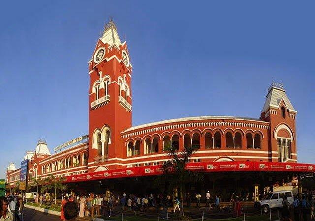 Chennai central Railway station Information, Story & History in Hindi