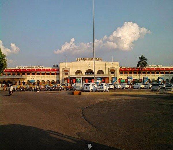 Tiruchirapalli Railway Station Information, Story & History in Hindi