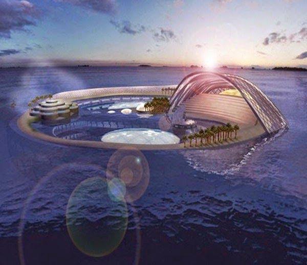 Crescent Hydropolis, Dubai History & Information in Hindi