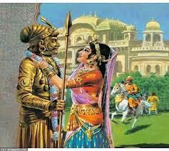 Prithviraj Chauhan - Sanyogita ki prem kahani in Hindi