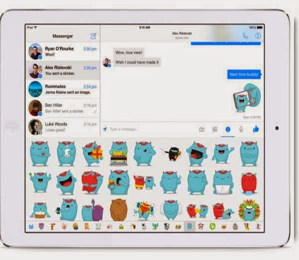 Share Files via Facebook chat