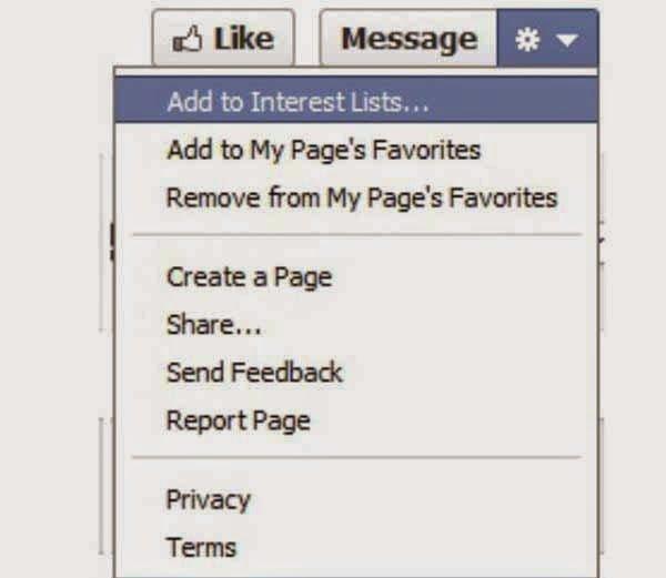 Create an Interest List