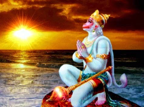 Benefits of Worship of Surya mukhi Hanuman in Hindi