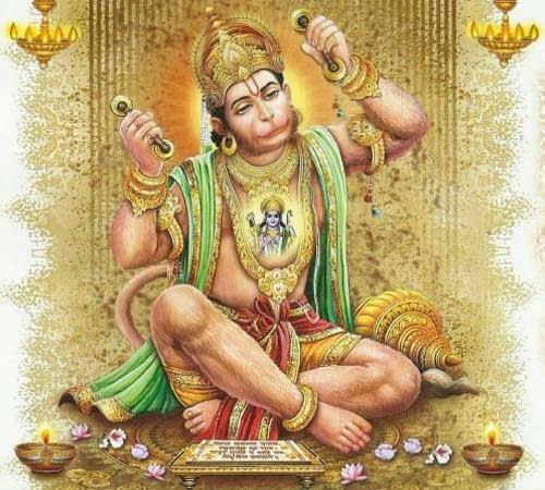 Benefits of Worship of Uttar mukhi Hanuman in Hindi